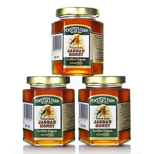 Organic-Jarrah-Honey-250gm-Triple